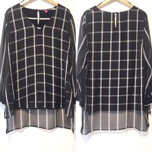 Vince Camuto Dressy Tunic Size XL